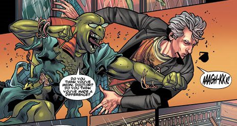 Sea Devils, the Boneless, and a Giant Robot OH MY! – Twelfth Doctor Vol.4 Review