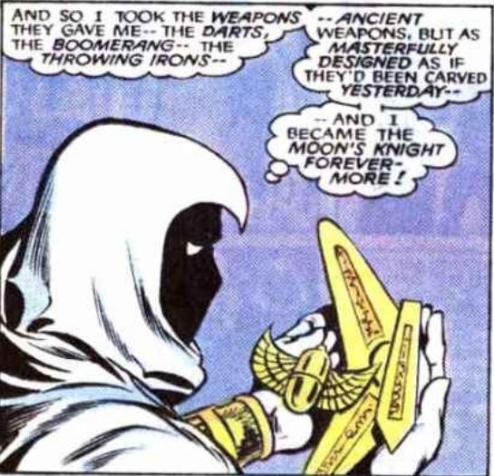 Ask the Council #6 – How did Hawkeye make the Weapons of Moon Knight?