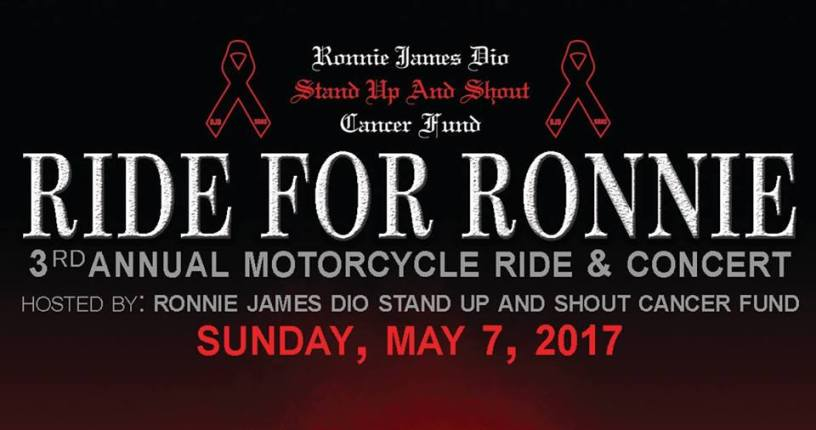 """EDDIE TRUNK Returns to Host 3rd Annual """"RIDE FOR RONNIE"""""""