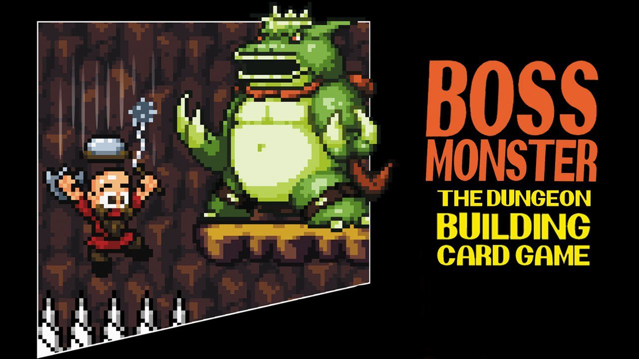 Boss Monster : The 8 bit, dungeon crawling, side scrolling, … card game?! – Plus A CONTEST!