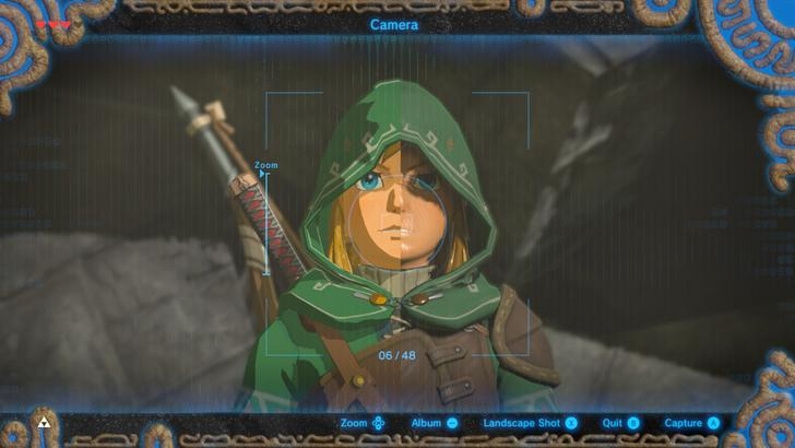 Latest Breath of the Wild glitch disables shaders on Link