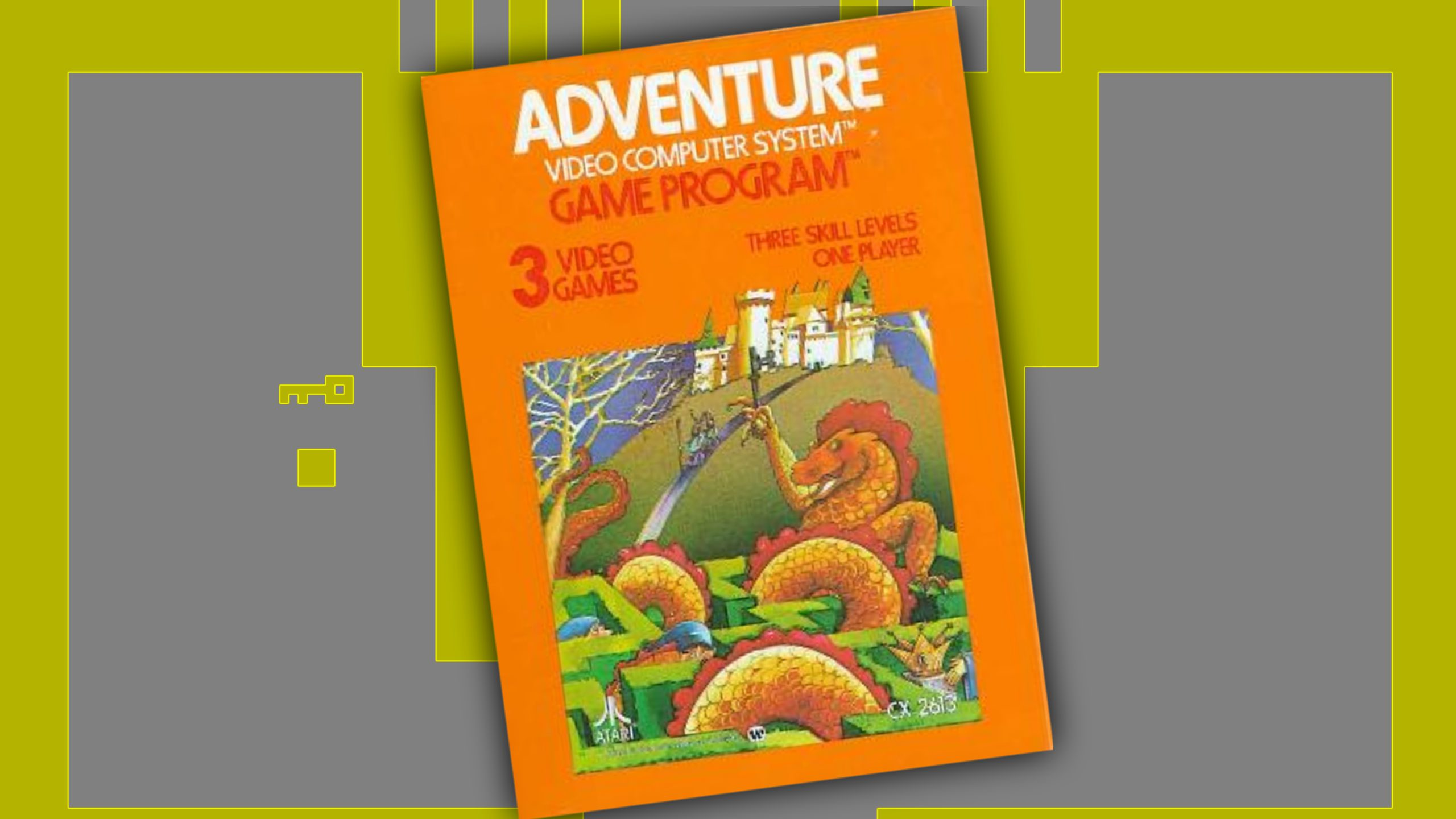Re-Live the First Ever Video Game Easter Egg! – Adventure for the Atari 2600 – GXG Live