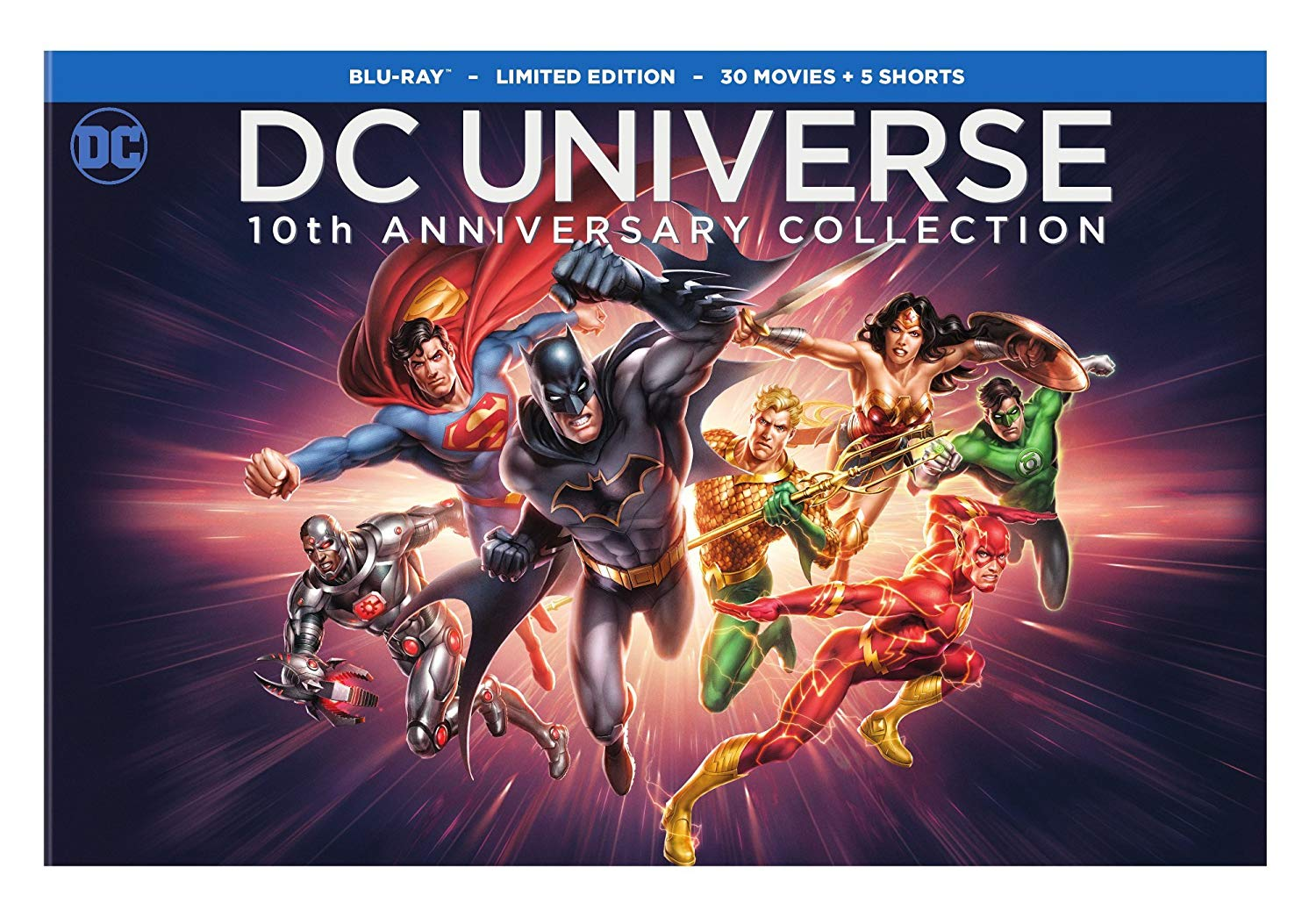 Enter to Win a DC Universe 10th Anniversary Blu-Ray Collection