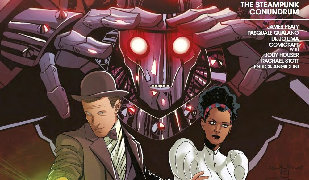 """Road to Thirteen #2: The Eleventh Doctor, """"The Steampunk Conundrum"""" REVIEW"""