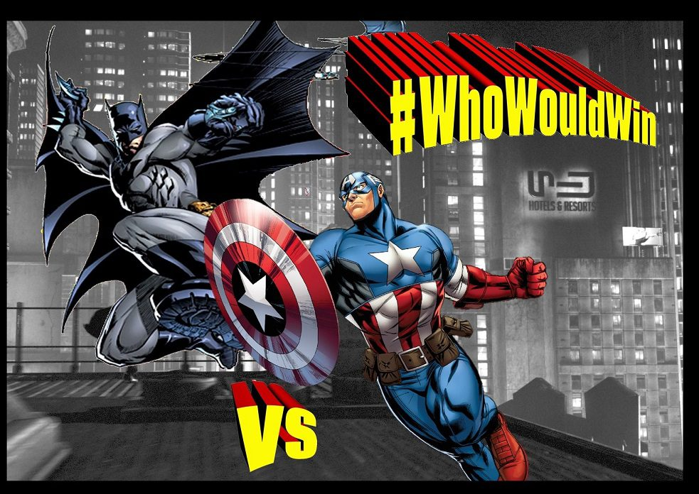#WhoWouldWin: Captain America Vs. Batman