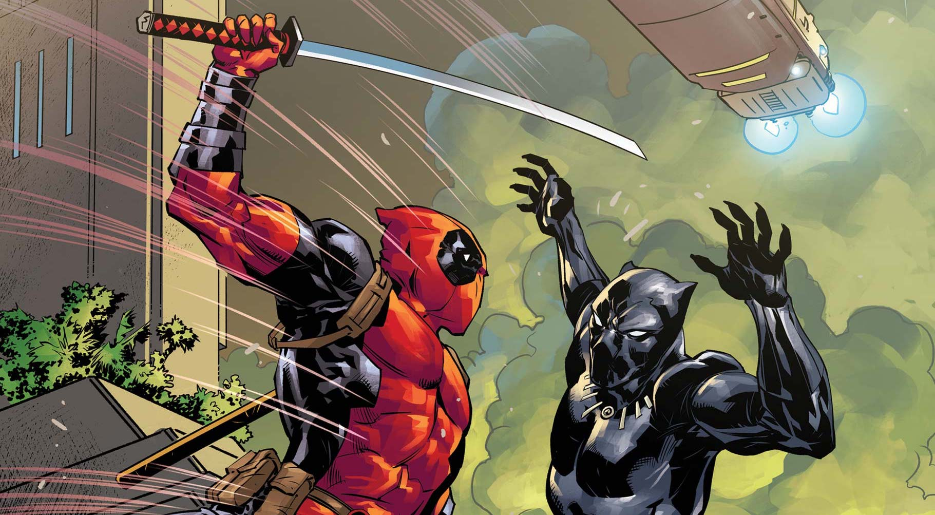 Black Panther vs. Deadpool is turning into Deadpool's best 1-on-1 fight