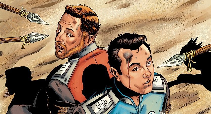 The Orville New Beginnings #2 (Review)