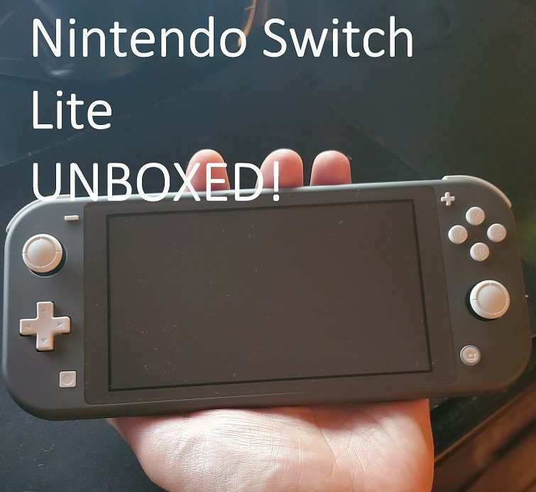 Nintendo Switch Lite Unboxing!