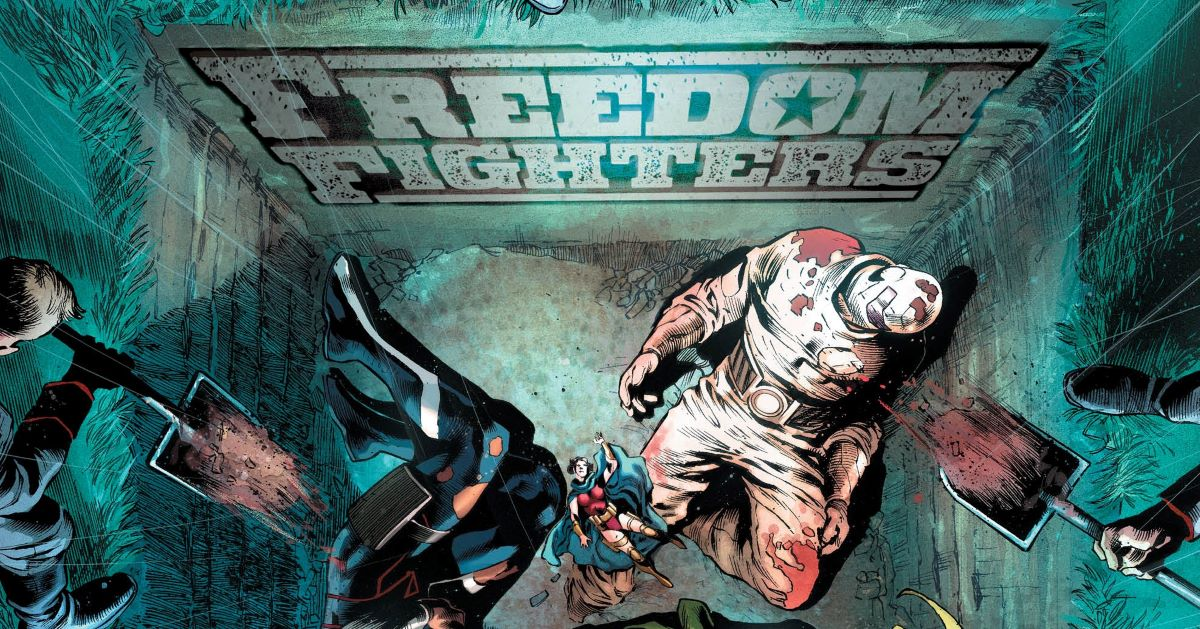 Exclusive DC Preview: Freedom Fighters #11