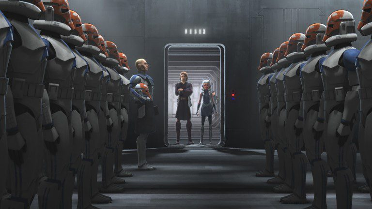 """Star Wars: The Clone Wars 07X09 """"Old Friends Not Forgotten"""" (Review)"""